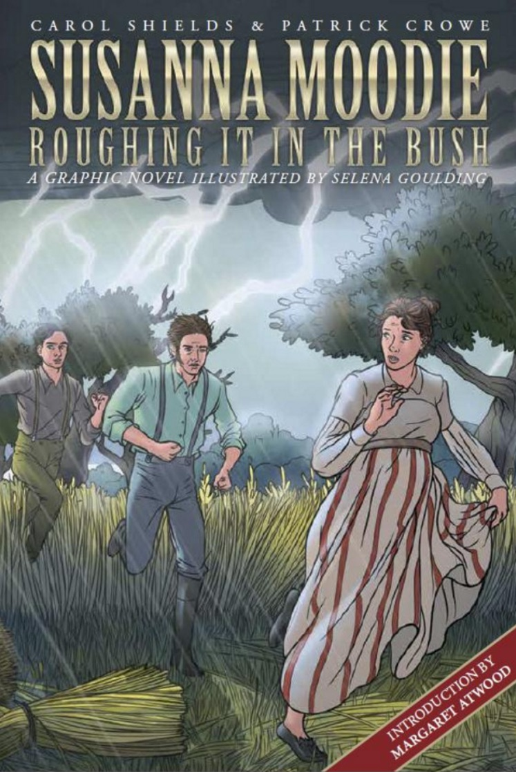 Cover of Susanna Moodie - Roughing it in the Bush Graphic Novel
